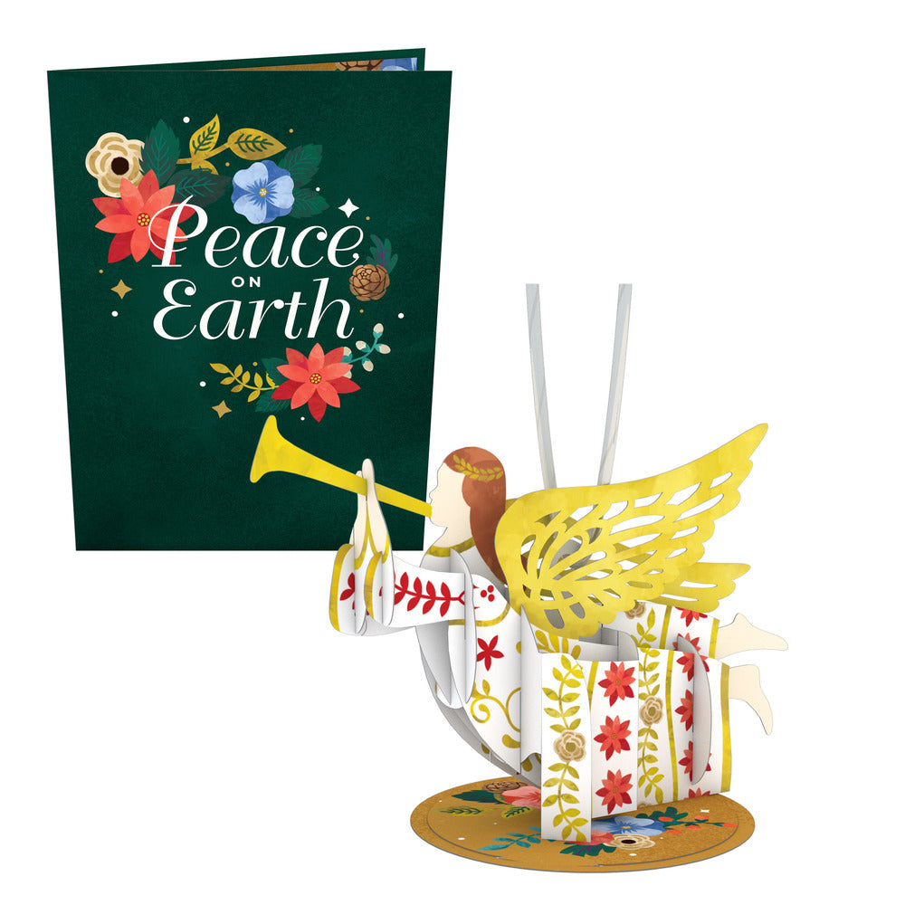 Holiday Card with Ornament (Assorted 5-Pack)             pop up card