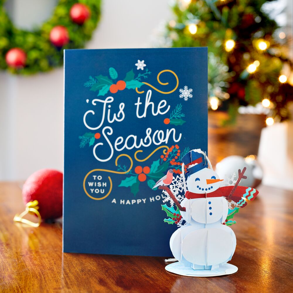 Snowman Card with Ornament