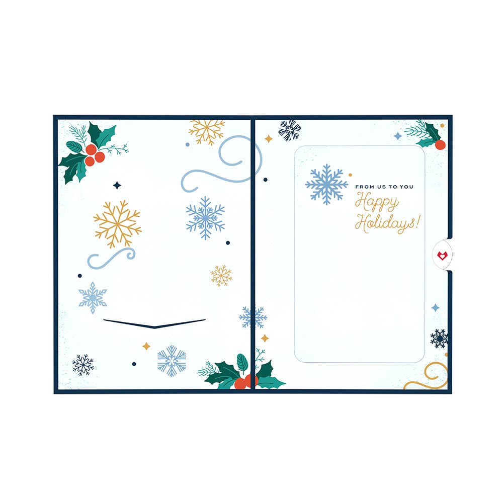 Snowman Card with Ornament             pop up card