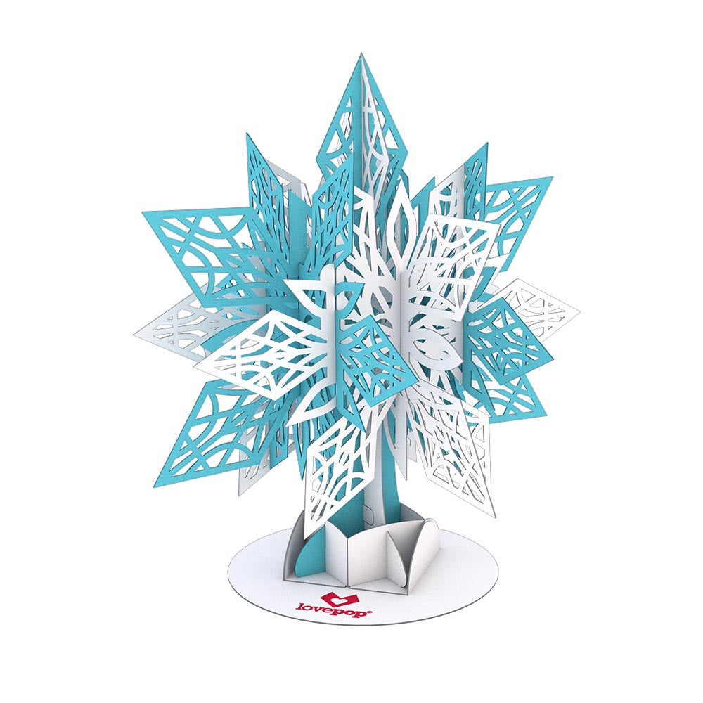 Stickerpop™: Snowflake (1-Pack)             pop up card