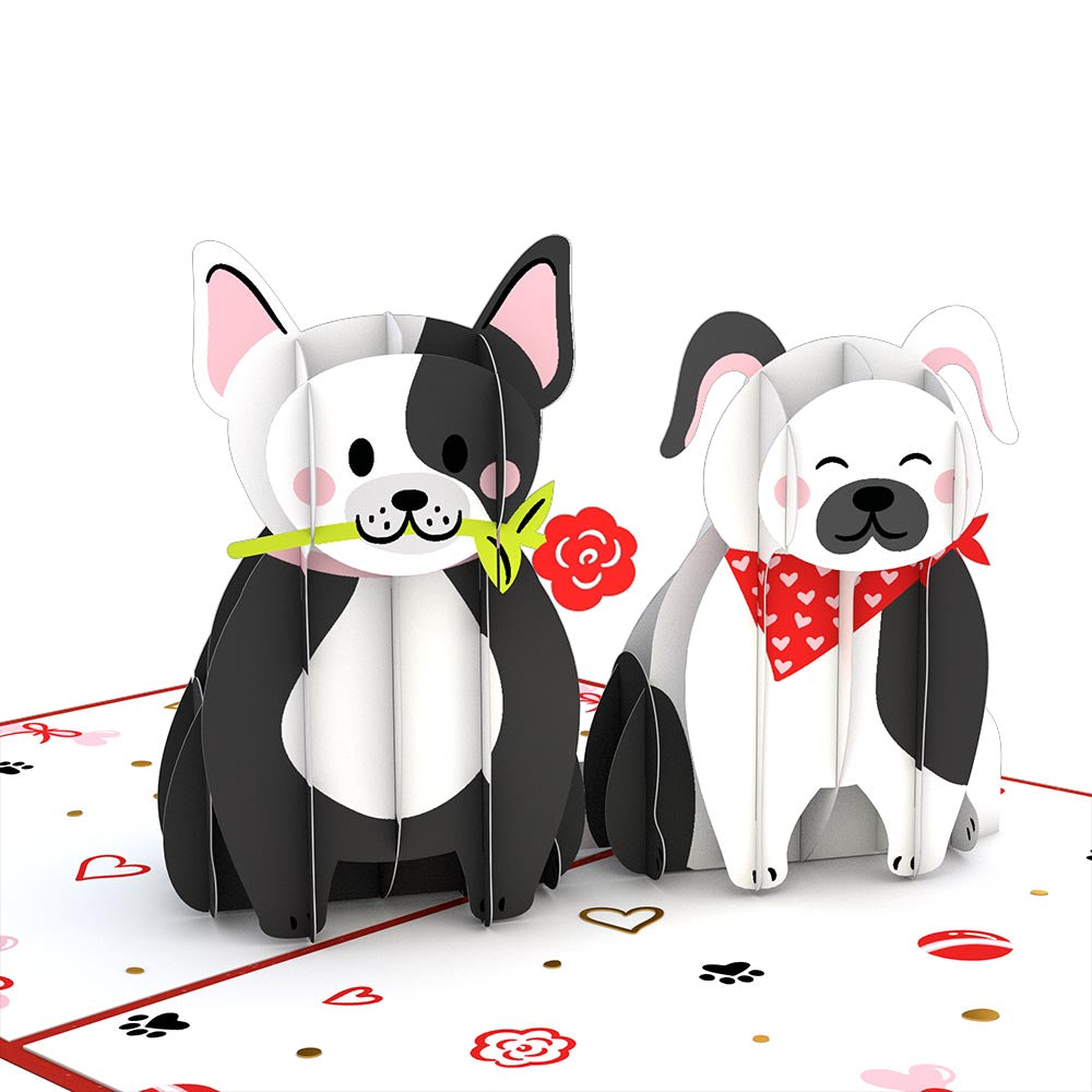 Love Dogs Pop-Up Card