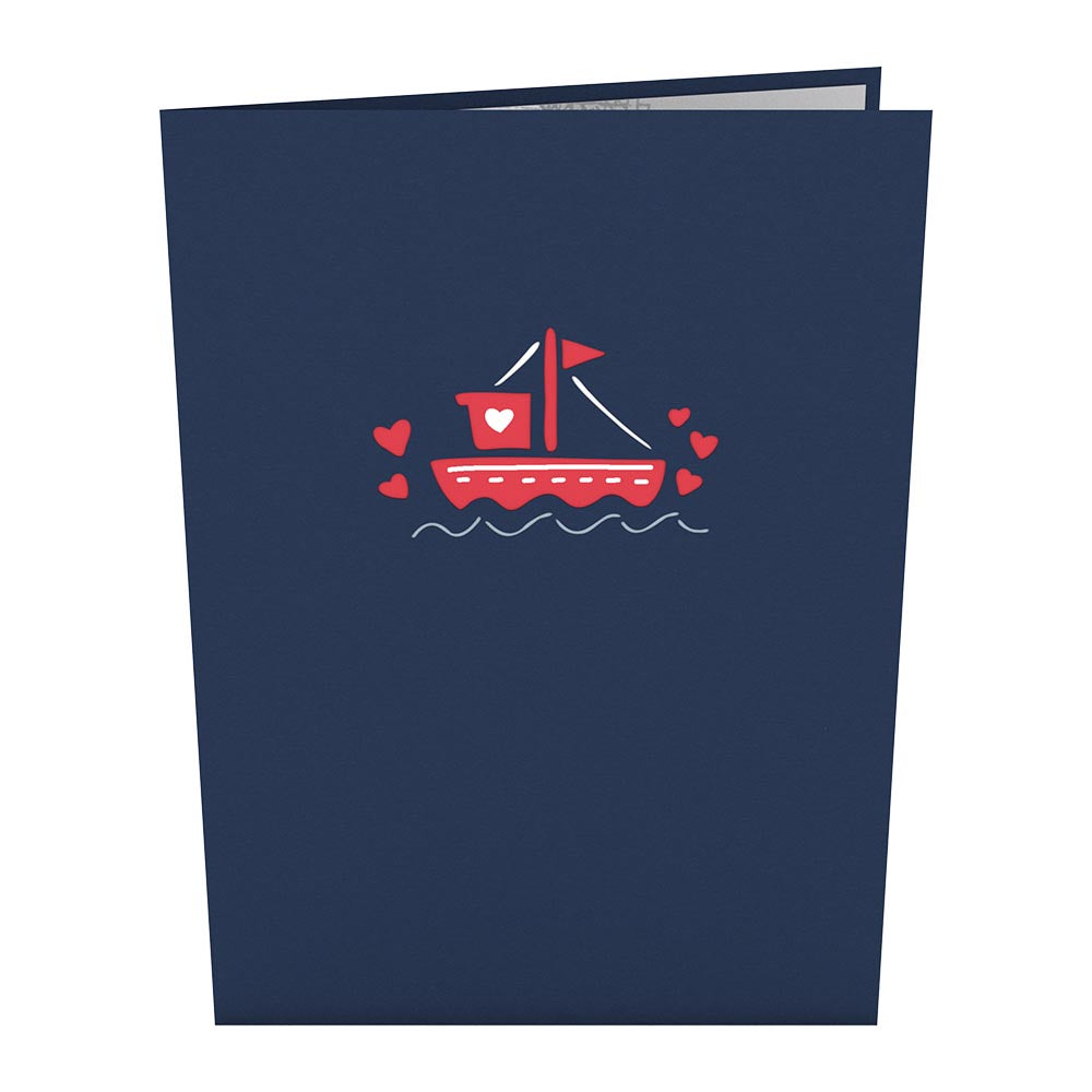 You Float My Boat 3D card