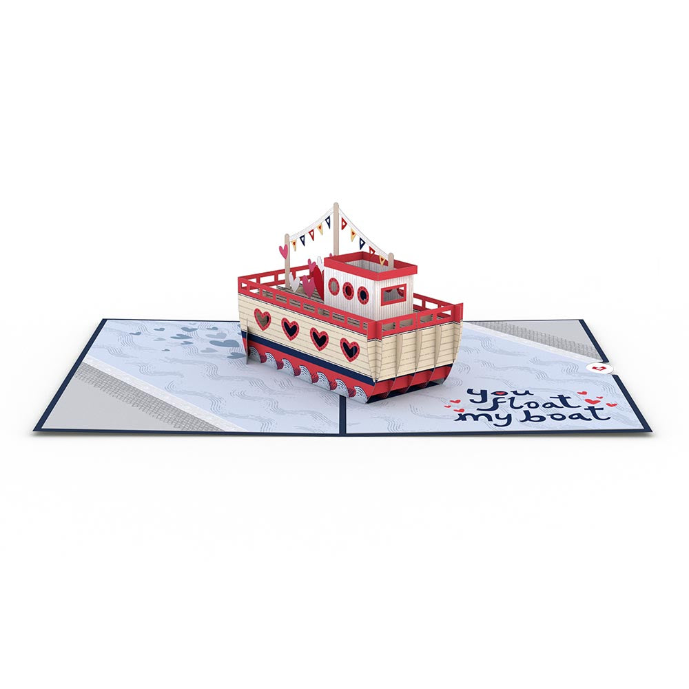 You Float My Boat             pop up card