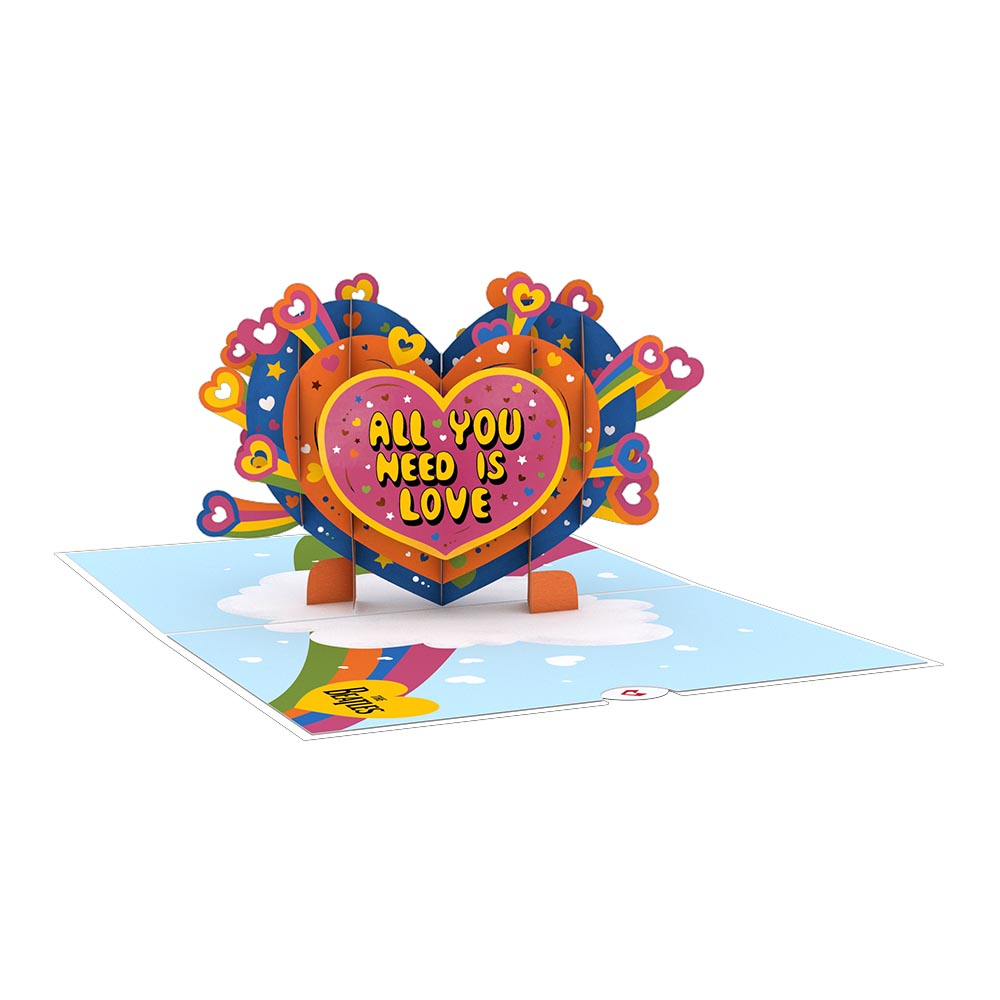 The Beatles All You Need is Love 3D card