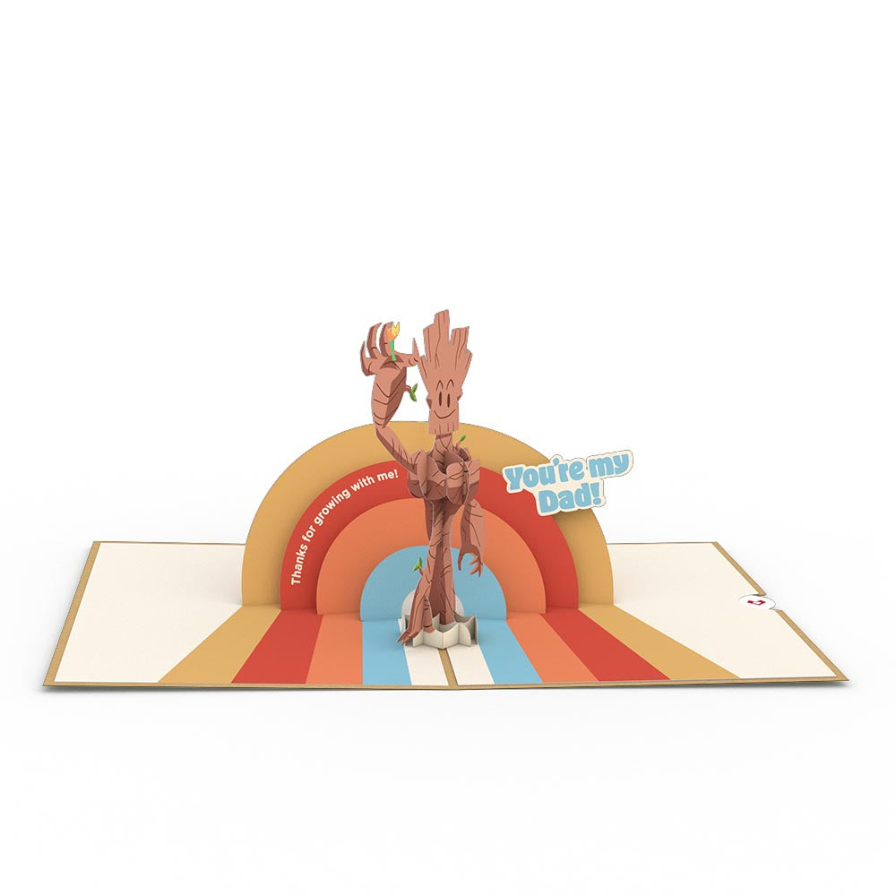 Marvel's Guardians of the Galaxy Groot-ful You're My Dad 3D card