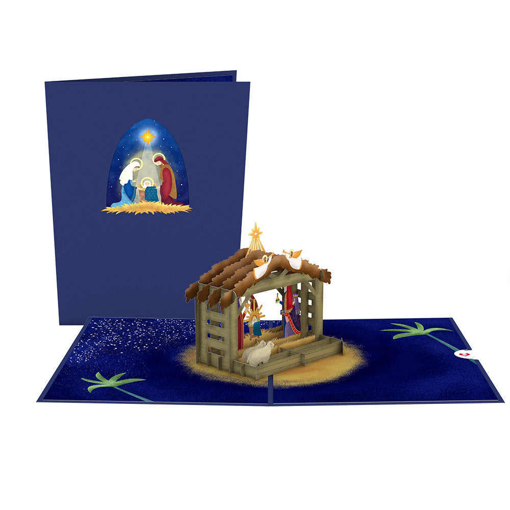 Religious Christmas 7-Pack             pop up card