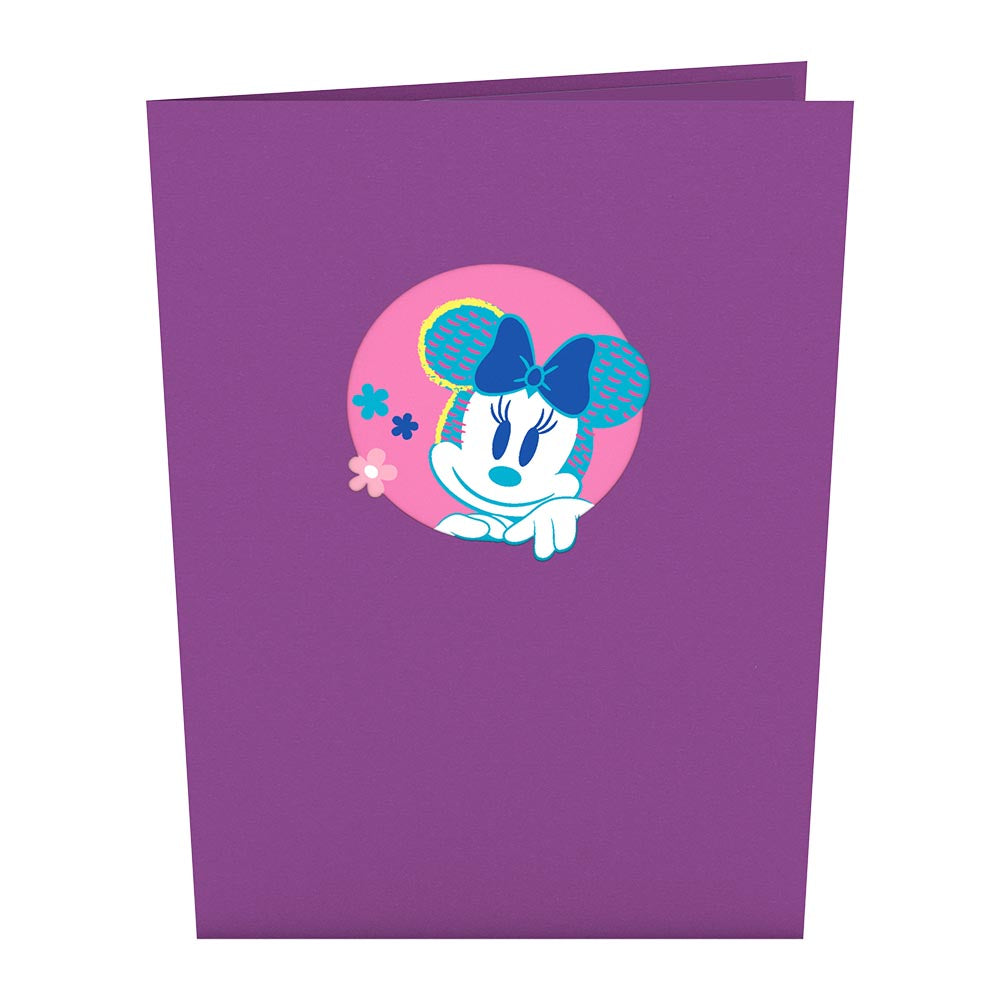 Disney's Minnie Mouse Best Mom             pop up card
