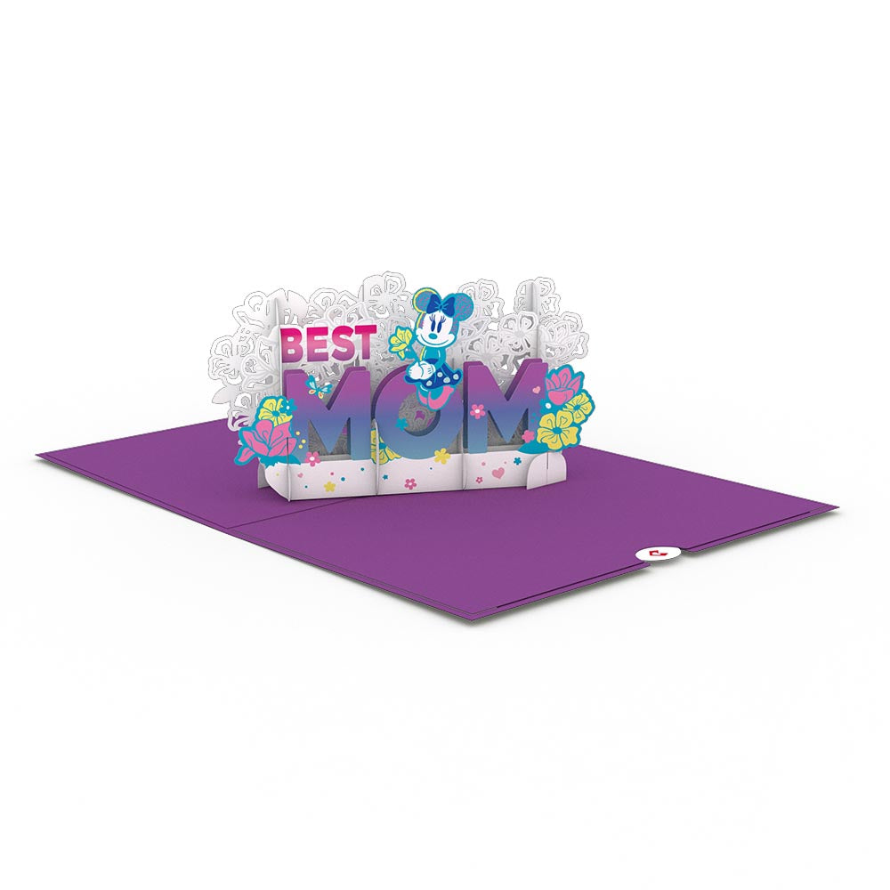 Disney's Minnie Mouse Best Mom 3D card