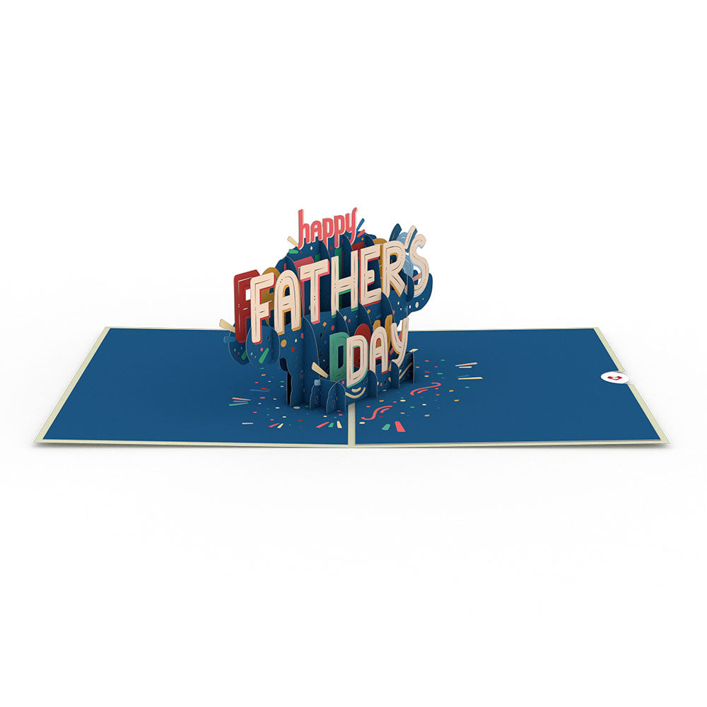 To My Dad: Happy Father's Day 3D card