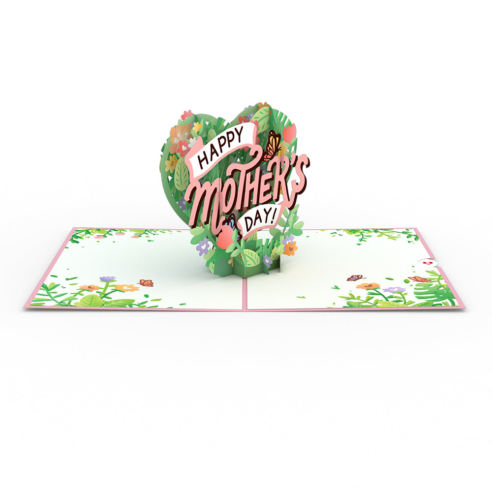 Mother's Day Heart 3D card