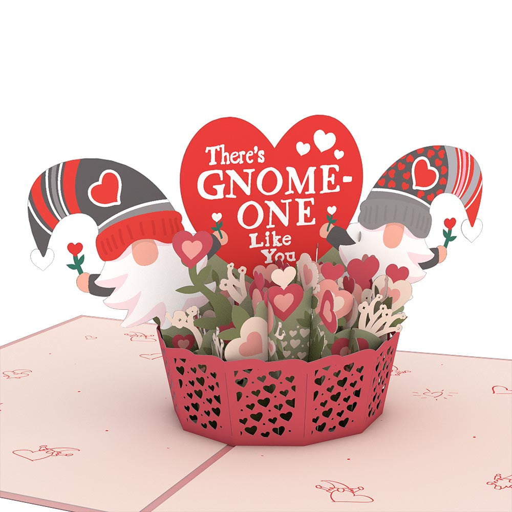 There's Gnome-One Like You Pop-Up Card