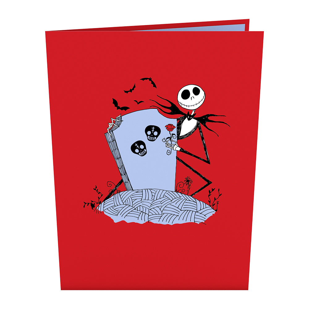 Disney The Nightmare Before Christmas Card with Mini Bouquet