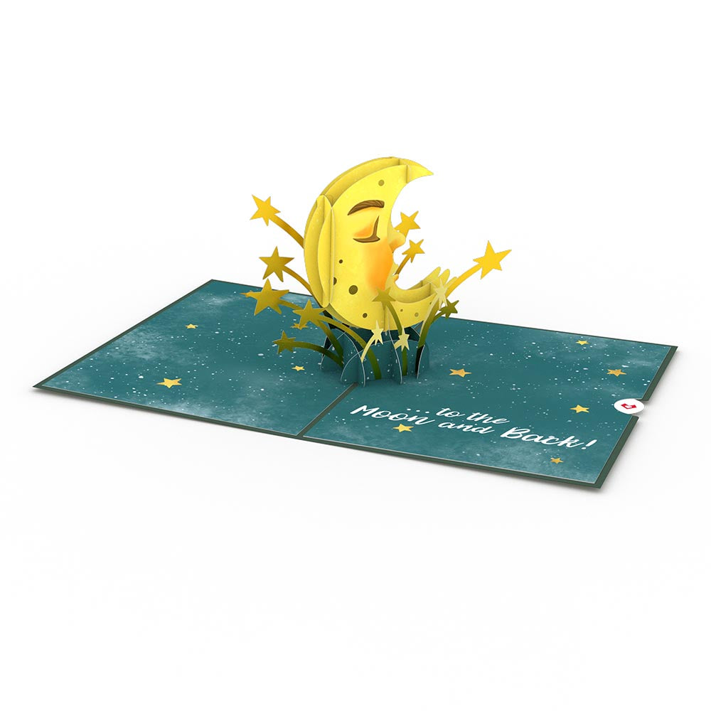 Love You to the Moon and Back Pop-Up Card