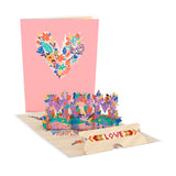 Love for Mom Vibrant Card with Bracelet                                   pop up card - thumbnail
