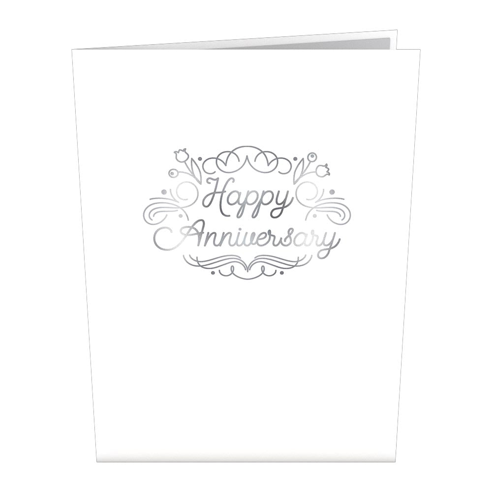 Anniversary Lily of the Valley Pop-Up Card