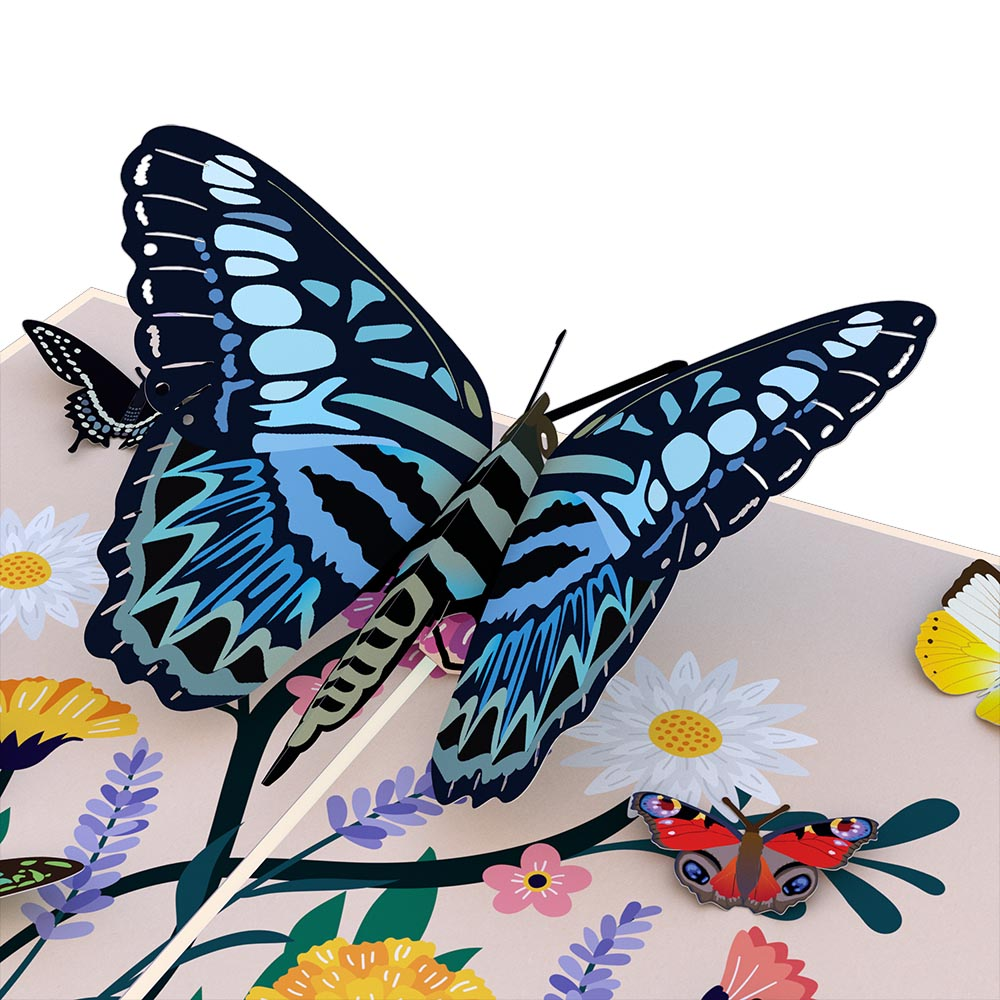 Seeing You Makes My Heart Flutter Butterfly Pop-Up Card