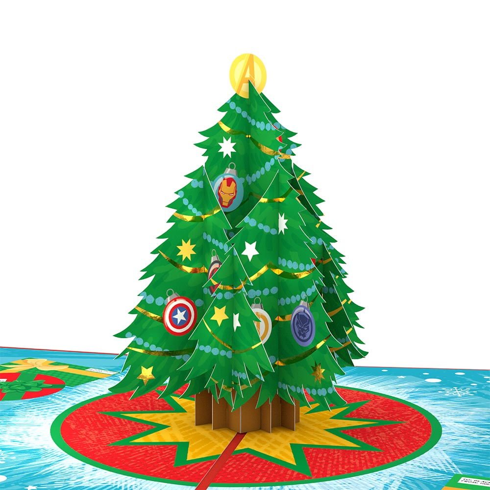 Marvel's Avengers Mighty Christmas Pop-Up Card