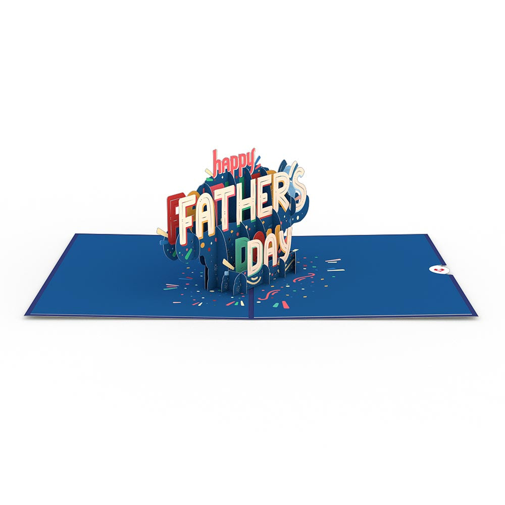 If your dear husband is a sentimental guy, you probably know that a simple gift can bring tears to his eyes. This Happy Father's Day 3D Card is not only affordable but its design will also bring out his calm smile and tears of happiness.