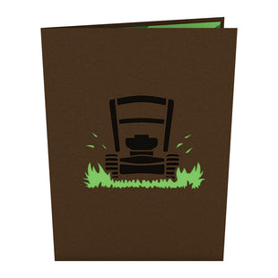 Lawn Mower 3D Pop Up Card