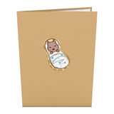 Little Peanut                                   pop up card - thumbnail