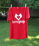 LovePop T-Shirt pop up card - thumbnail