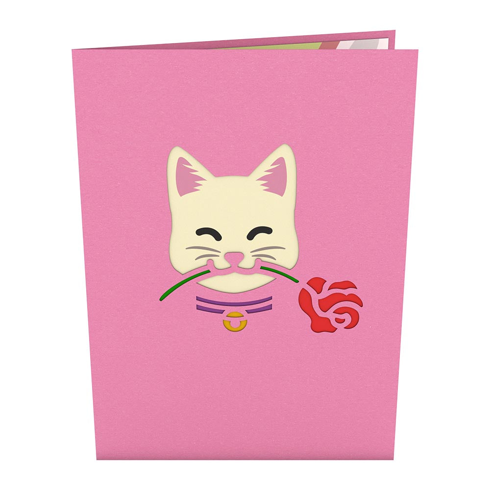 Love Cat             pop up card