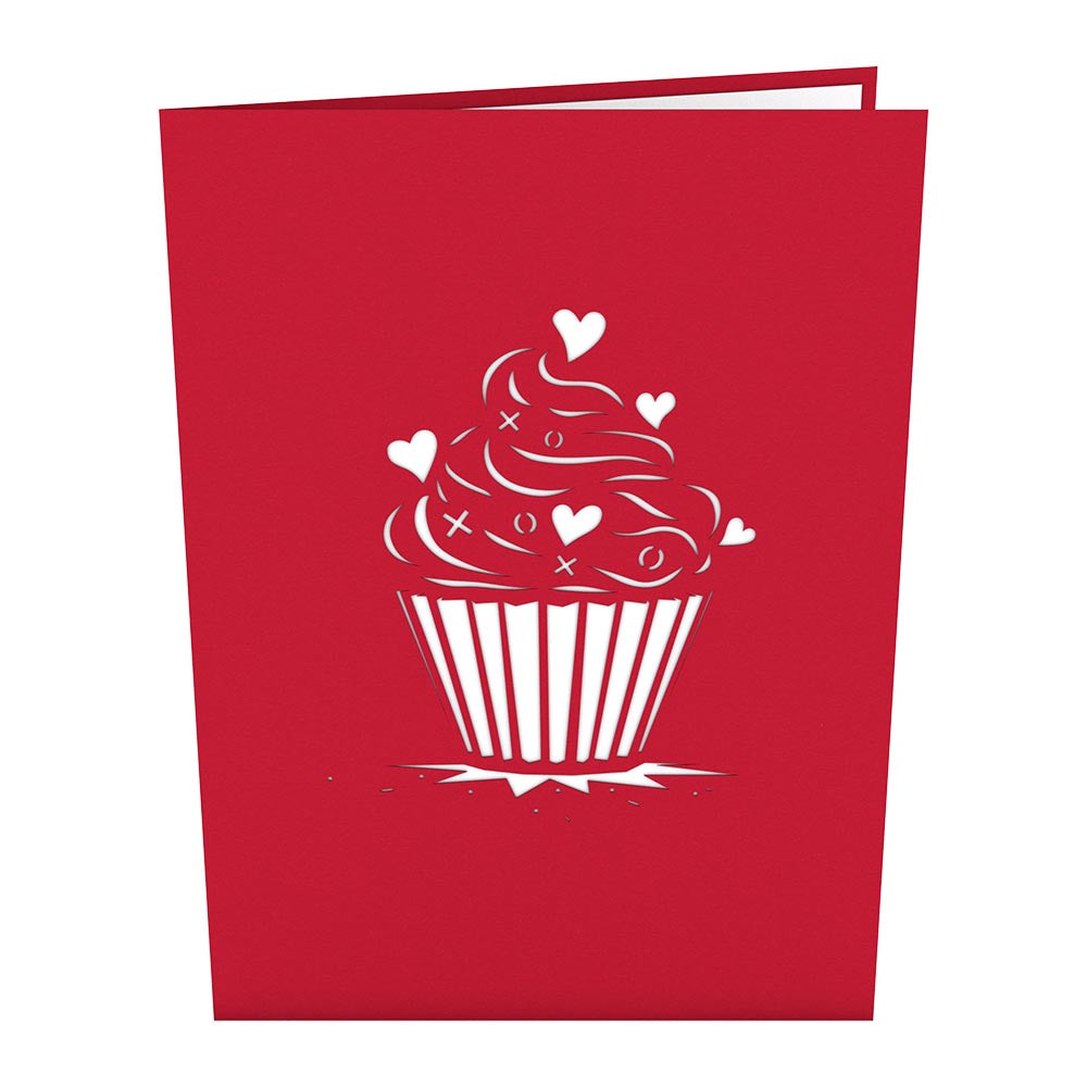 Love Cupcake Classic             pop up card