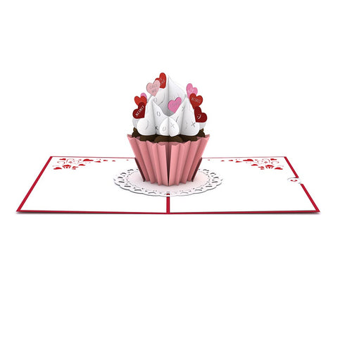 Love Cupcake Pop-up Valentine's Day Card greeting card -  Lovepop