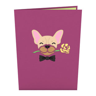 Love Dog Pop up Card