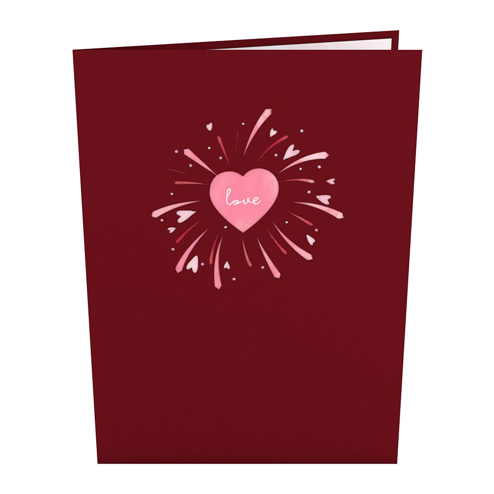 Love Explosion             pop up card
