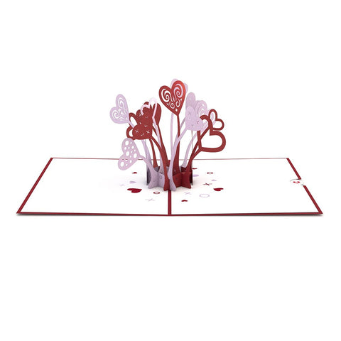 Love Explosion Pop Up Valentine's Day Card greeting card -  Lovepop