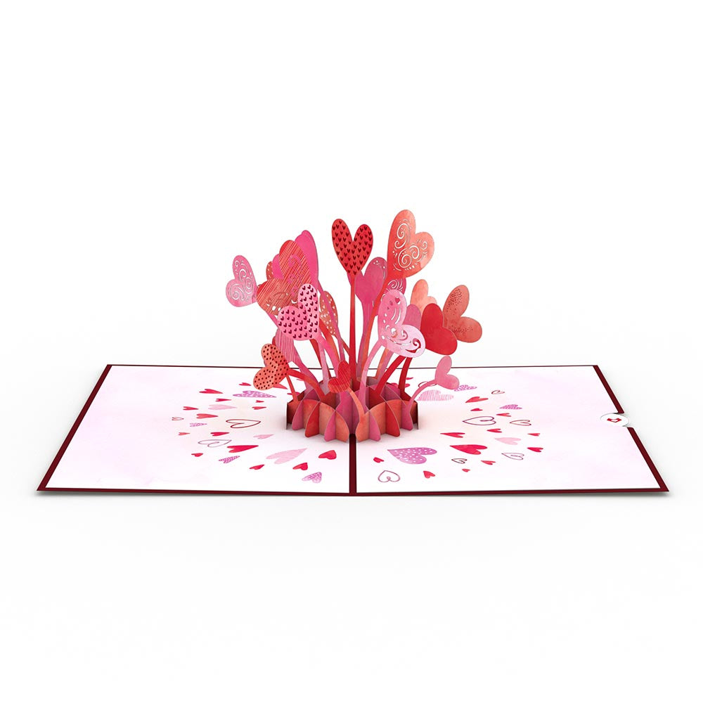 Love Explosion Pop-Up Card