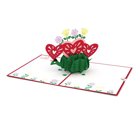 Love Turtle Pop Up Valentine's Day Card greeting card -  Lovepop