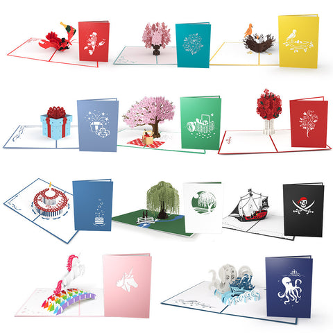 Lovepop Survival Pack for Dudes Pop Up Cards greeting card -  Lovepop