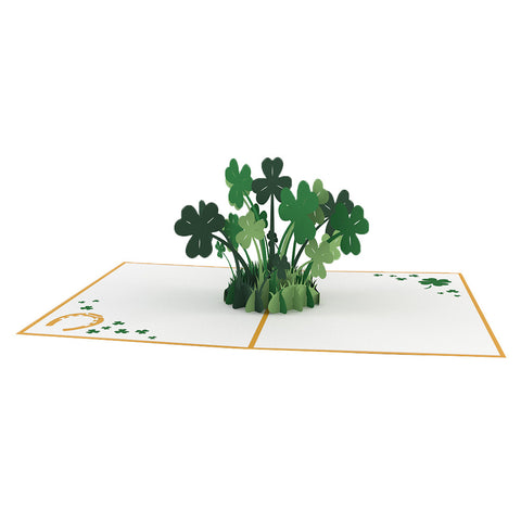 Lucky Clover Pop Up St. Patrick's Day Card greeting card -  Lovepop