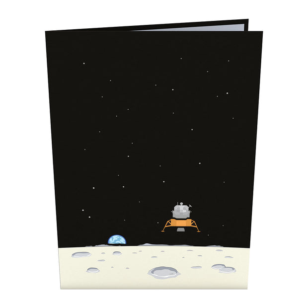 Lunar Lander Pop Up Card