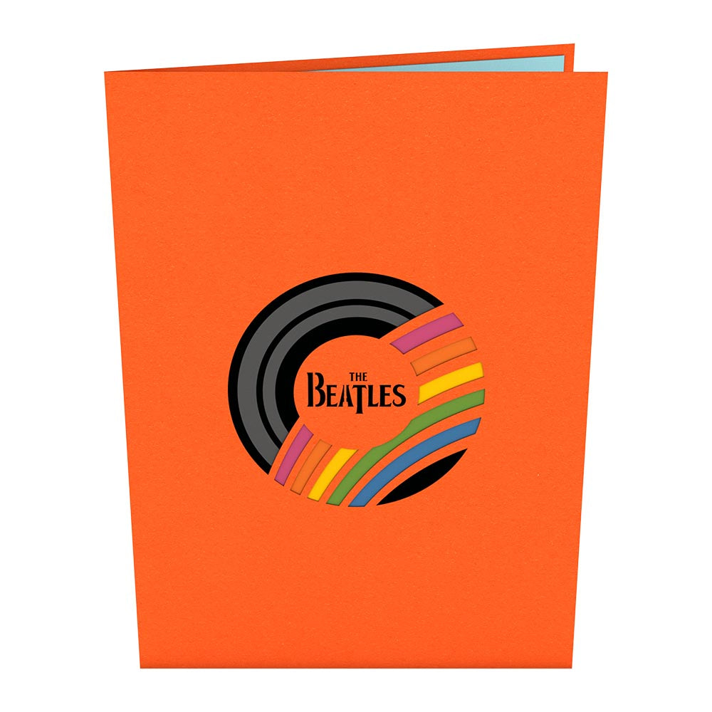 The Beatles Magical Mystery Tour birthday pop up card