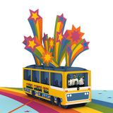 The Beatles Magical Mystery Tour birthday pop up card - thumbnail