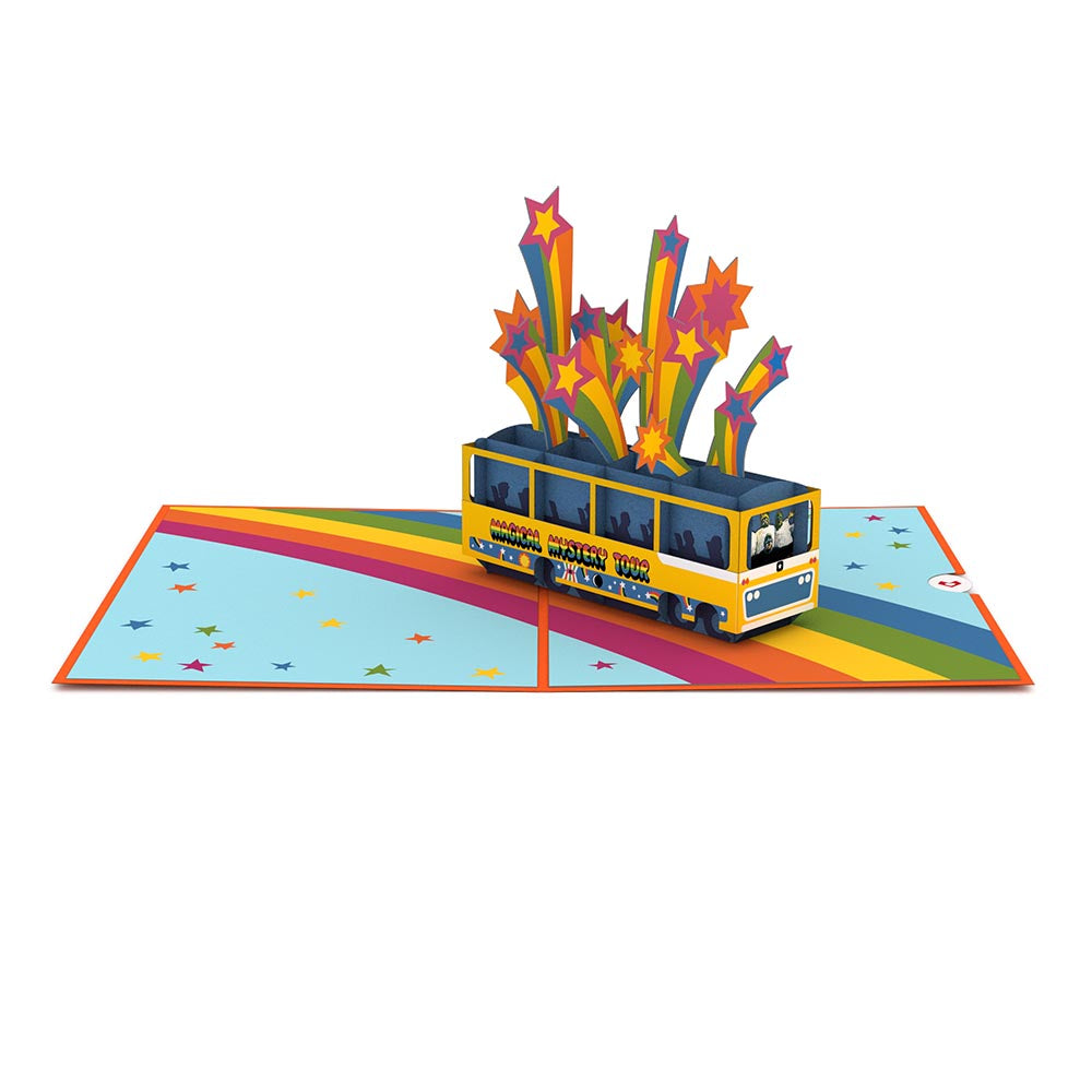 The Beatles Magical Mystery Tour Pop up Card