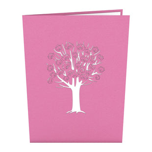 Magnolia Tree Pop Up Valentine's Day Card