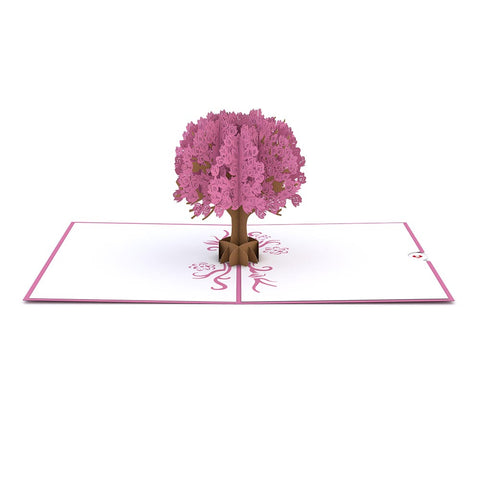 Magnolia Tree Pop Up Valentine's Day Card greeting card -  Lovepop
