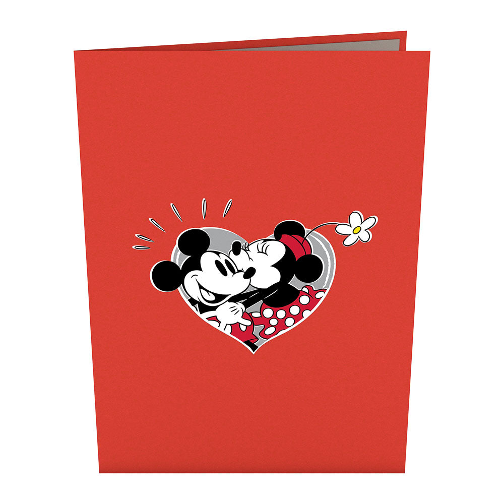 Disney's Mickey and Minnie In Love 3D card