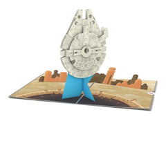 Star Wars Millennium Falcon Pop up Card greeting card -  Lovepop