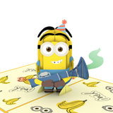 Despicable Me Minions Birthday Surprise pop up card - thumbnail