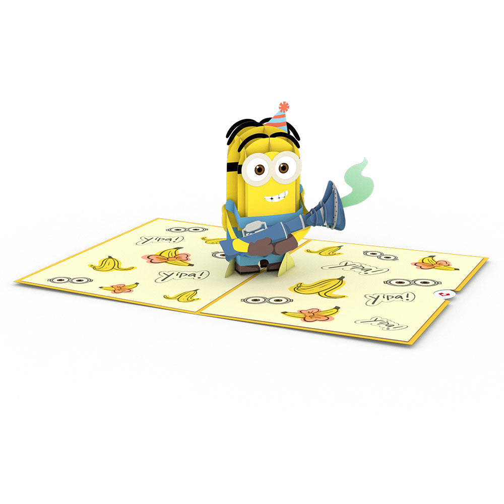 Despicable Me Minions Birthday Surprise Pop-Up Card