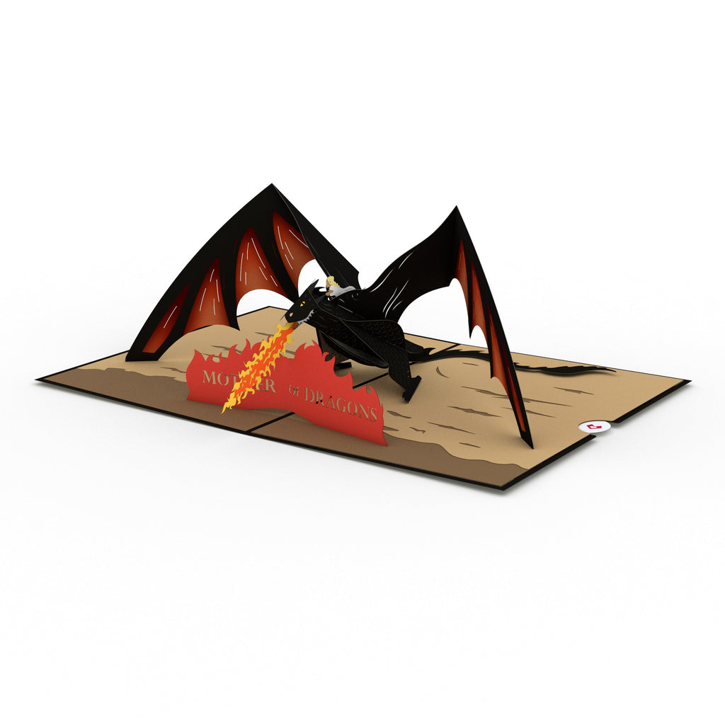 Mother of Dragons pop up card
