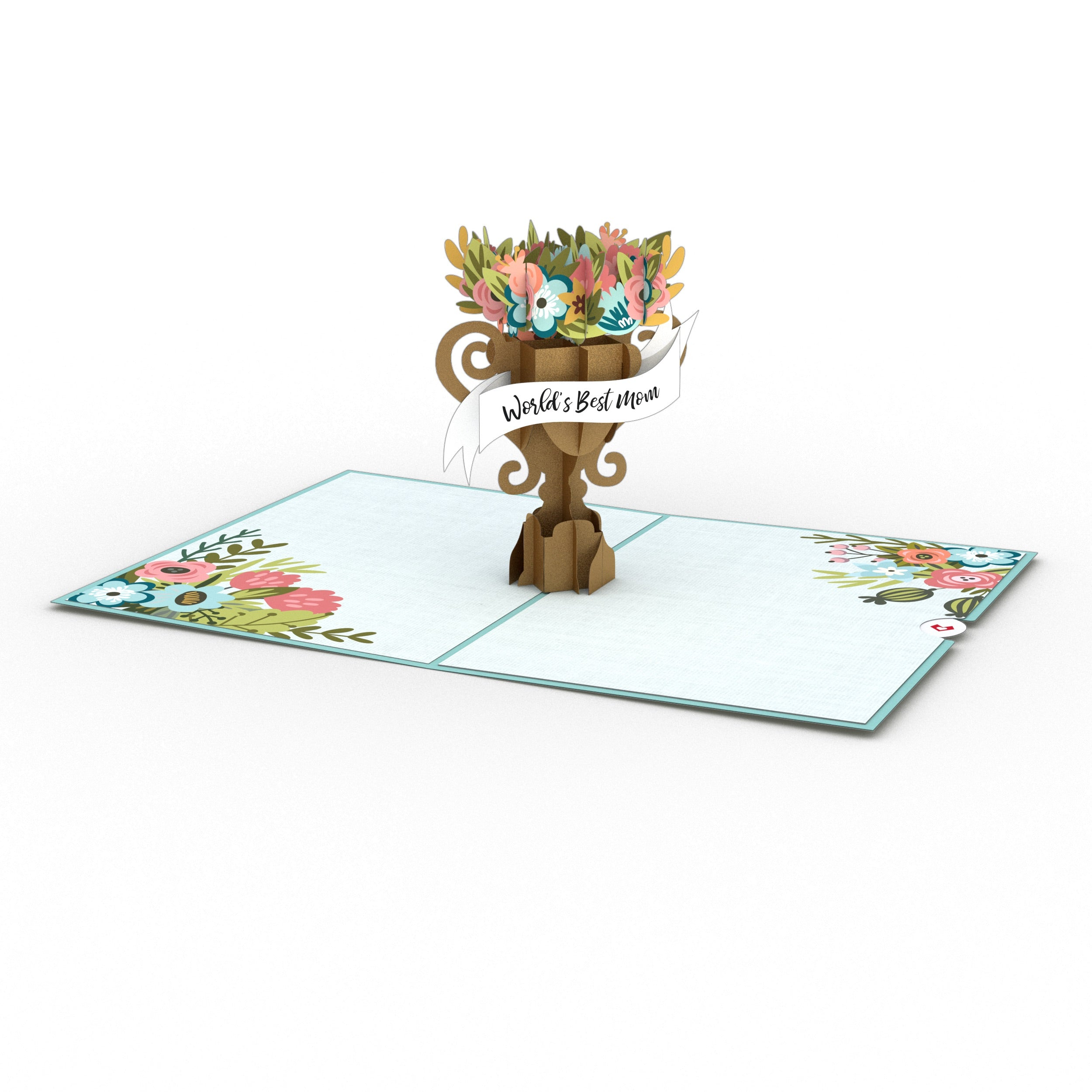 Mother's Day Award 3D card