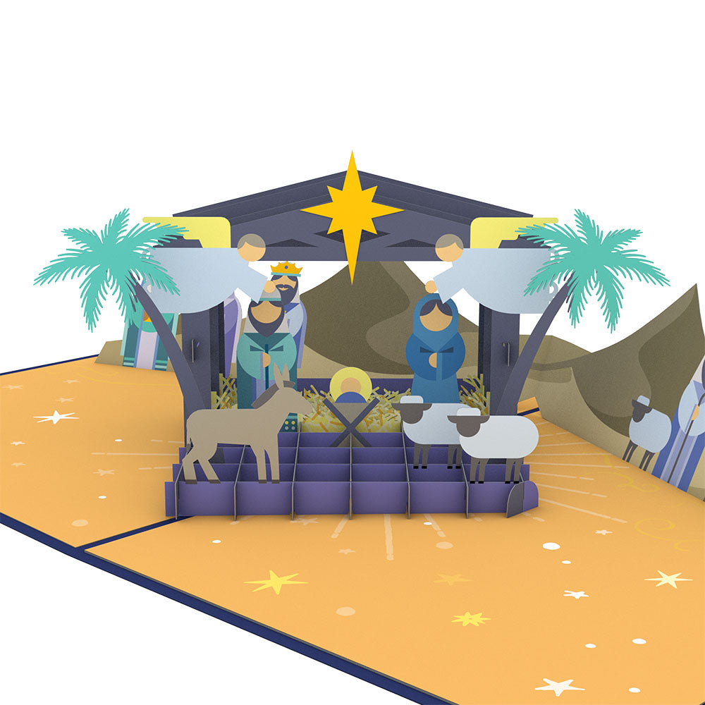 Nativity             pop up card