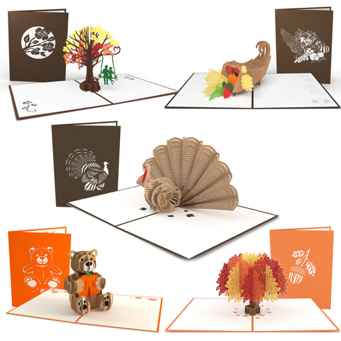 Fall 5 Pack greeting card -  Lovepop