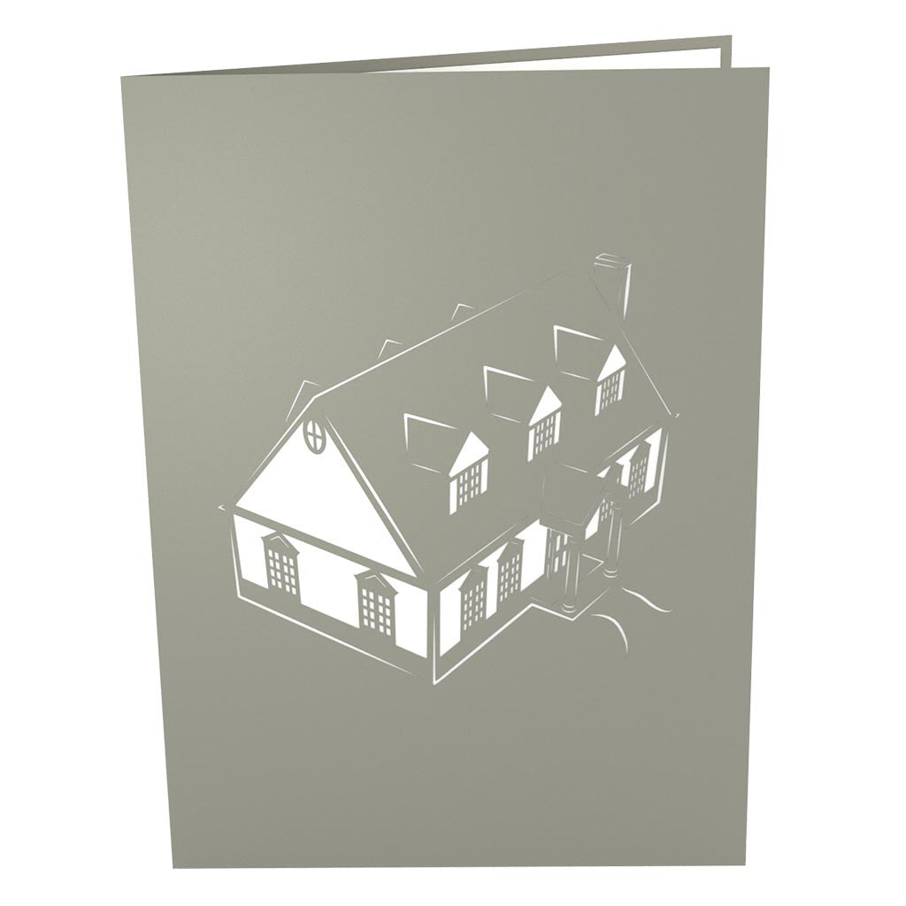 New Home Pop Up Real Estate Card Lovepop